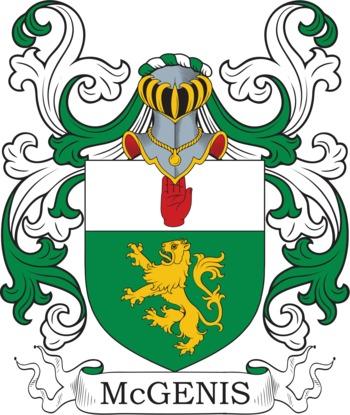 MCGINNIS family crest