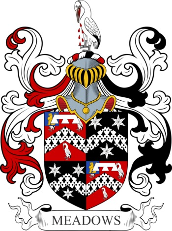 MEADOWS family crest