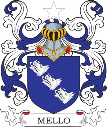 MELLO family crest