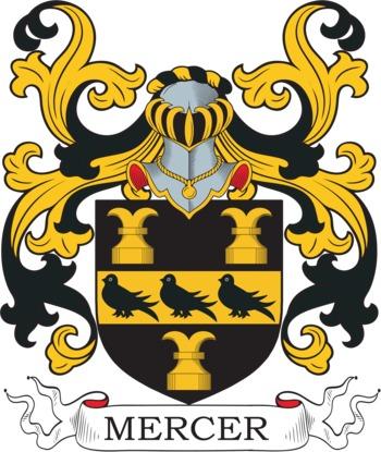 MERCER family crest