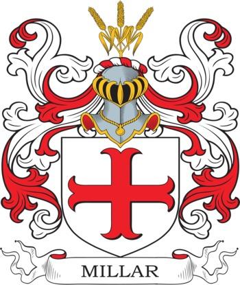 Millar family crest
