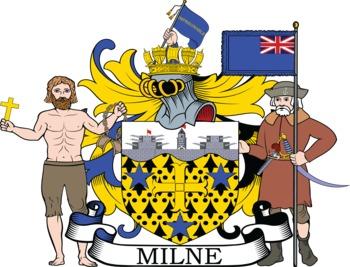 Milne family crest