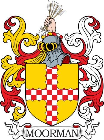 MOORMAN family crest