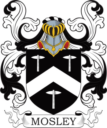 MOSLEY family crest