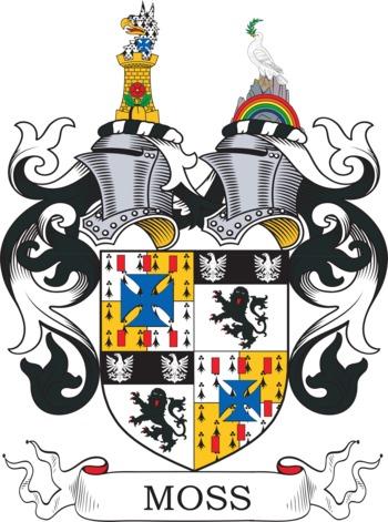 MOSS family crest