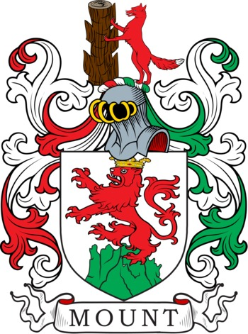 MOUNT family crest