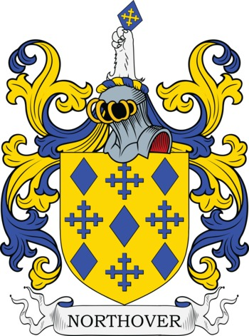 NORTHOVER family crest