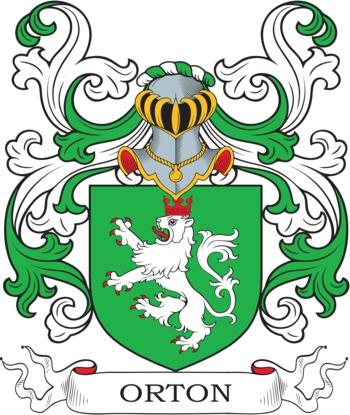 ORTON family crest