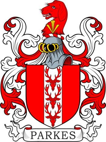 Parkes family crest