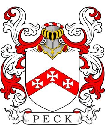 PECK family crest