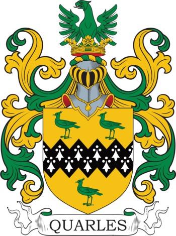 QUARLES family crest