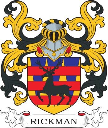 RICKMAN family crest