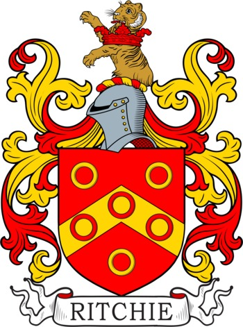 RITCHIE family crest