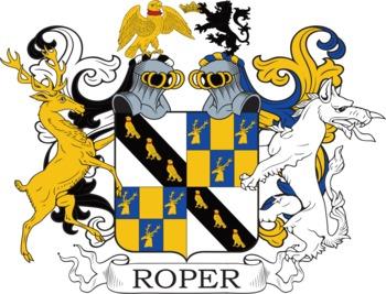 Roper family crest