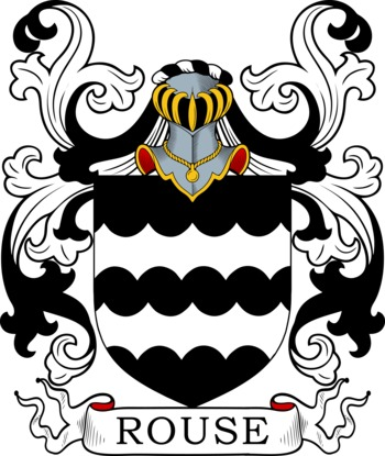 ROUSE family crest