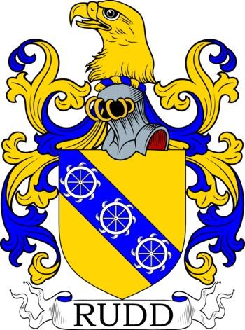 RUDD family crest