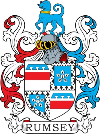 RUMSEY family crest