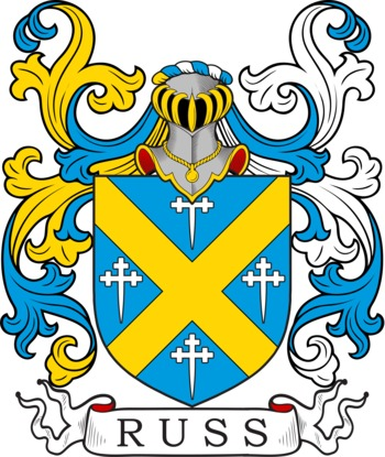 RUSS family crest