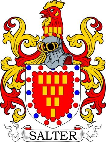 SALTER family crest