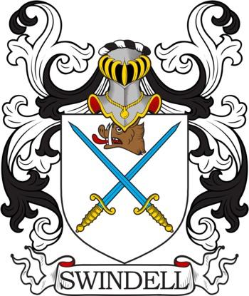 SWINDELL family crest