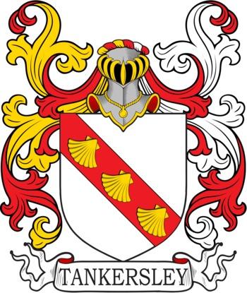 TANKERSLEY family crest