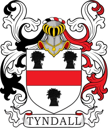 TYNDALL family crest