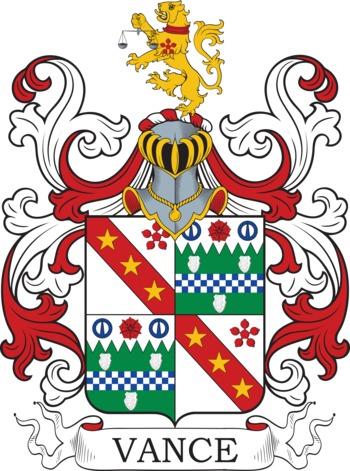VANCE family crest