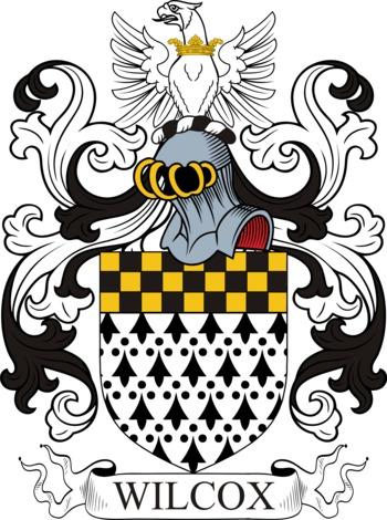 WILCOX family crest