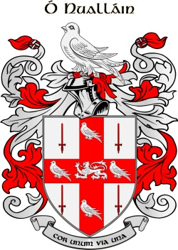 NOWLAND family crest