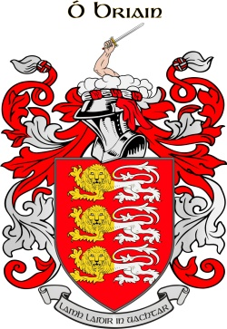 BRIAN family crest