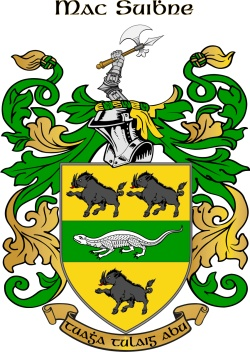 MCSWEENY family crest