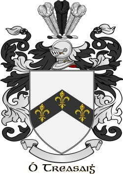 TRACEY family crest