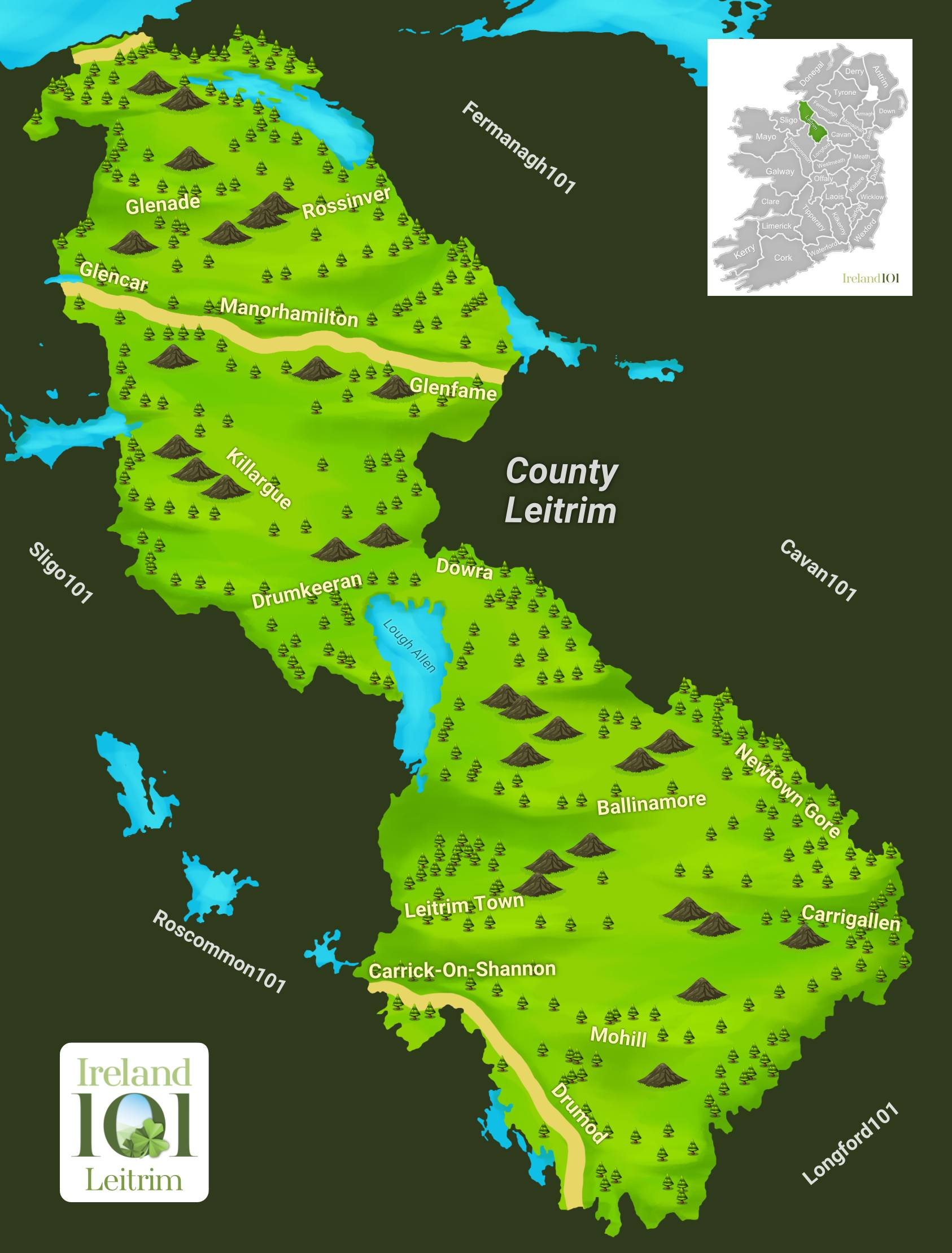 Counties of Ireland - Leitrim | Ireland